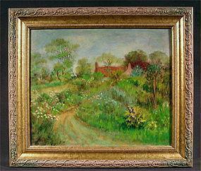 Original oil painting by Jennings, British