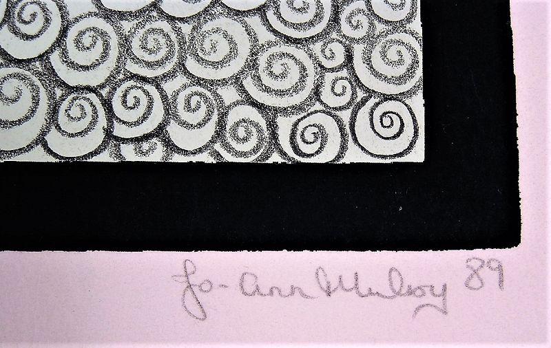Unique Original Serigraph #6 by Jo Ann Mulroy,  L/E, Unframed