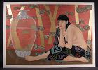 Original Serigraph by Muramasa Kudo, Goldern Dream