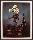 Fine Flemish Realism L/E Print by David E. Weaver, Wines & Roses