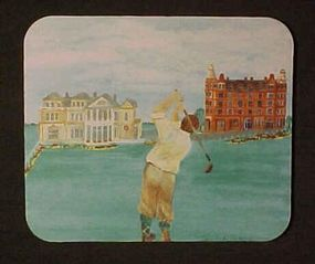 Mouse Pad for Father's Gift, For Golfer