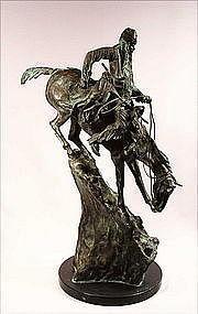 Bronze Sculpture, Mountain Man by Remington