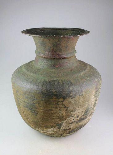 Massive Byzantine bronze vessel, 6th-9th. cent.