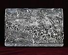 "Henryk Winograd War Plaque ""The Battle of Antietam Sharpsburge"" .925"