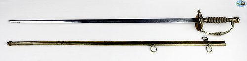 Fabulous U.S. Model 1860 Staff & Field Officer's Sword