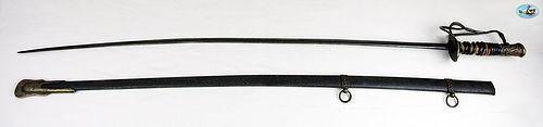 Fabulous U.S. Pattern 1872 Cavalry Sword