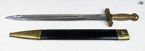 Remarkable Antique U.S. Model 1833 Foot Artillery Sword