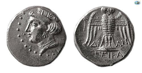 PONTOS, AMISOS. LATE 5TH-4TH CENTURY BC. AR SIGLOS Coin