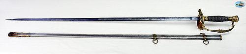 Stunning U.S. Model 1860 Staff & Field Officer's Sword