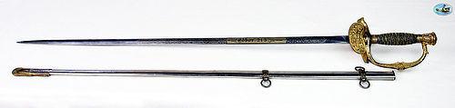 Stunning U.S. Unusual Model 1860 Staff & Field Officer's Sword