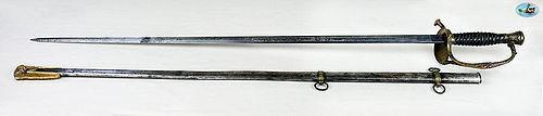 Amazing U.S. Model 1860 Staff & Field Officer's Sword