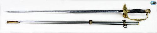 Pristine U.S. 1860 Model Staff & Field Officer's Sword