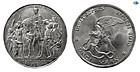 GERMANY, PRUSSIA, SILVER, 3 MARKS, 1913, BERLIN VICTORY,KM 534, UNC