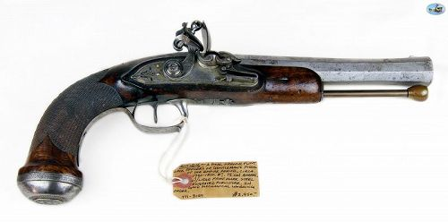 Fine 1800s French Empire Period Officer�s or Gentleman�s Pistol