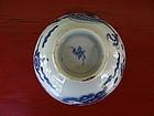 Blue & White MING Bowl
