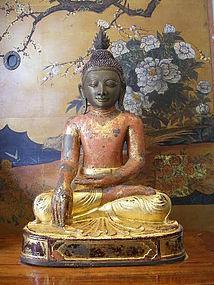 AVA 3-Seasons Bronze Buddha, 18th Century