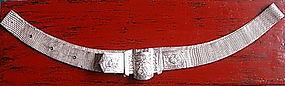 Rare & Magnificent SINO-SIAMESE Ornate Silver Belt