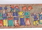 Long YAO MIEN ceremonial DRAGON BRIDGE Taoist God Painting