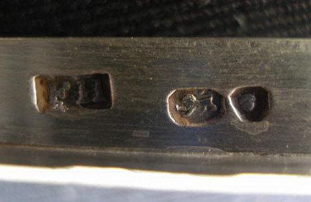 Solid London Sterling Silver Grape Shears, Hallmarks