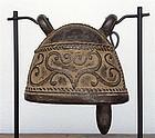 Antique Baby Elephant BRONZE BELL, 19th Cent. Burma