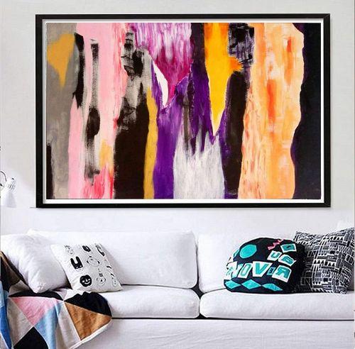 """CARNIVAL"" Original Acrylic Painting"