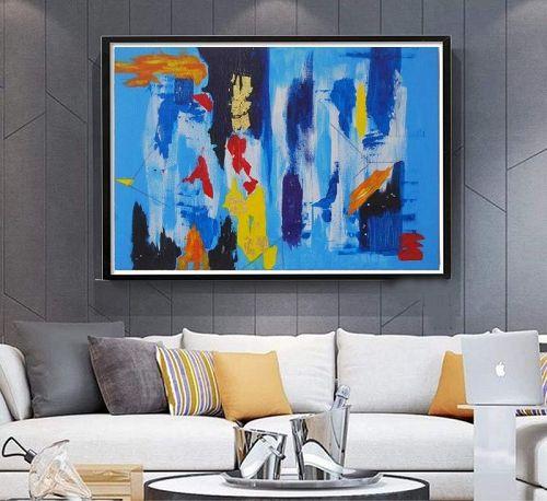 """GINZA"" Original Acrylic Painting"