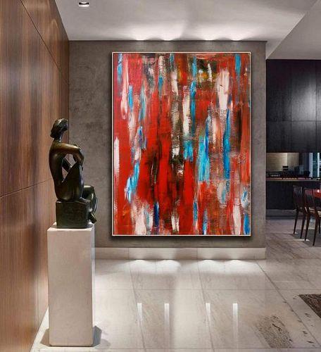 """GATE OF TEMPTATION"" Original Acrylic Painting"
