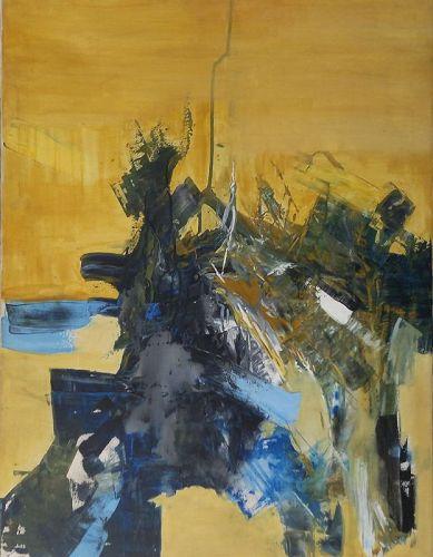 "Hesham Wafaie, Original Acrylic Painting, ""THE DREAM"""