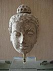 Gandhara, Stucco Head of Buddha, 3rd/4th Cent. AD