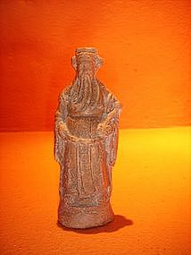 Terracotta God of Power + Success/Fortune China w. seal