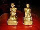 Pair of Disciples, 19th Century, Mandalay, Burma