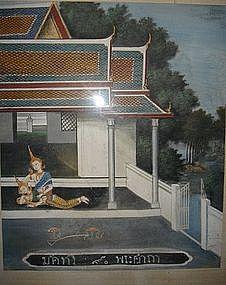 Thai Classical Painting, 19th Century