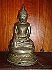 Ava Bronze Buddha 17/18th Cent. Burma