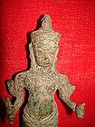 Khmer Bronze Vishnu, Baphuon statue