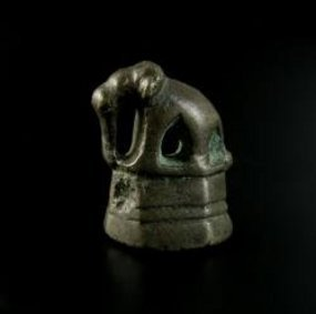 Rare Original Elephant Opium Weight, 18-19th Cent.