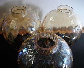 Marigold Diamond Optic Glass Globes