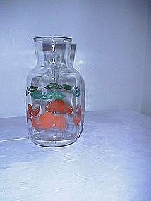 Anchor Hocking Orange Juice Carafe
