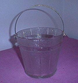 Indiana Glass Ice Bucket