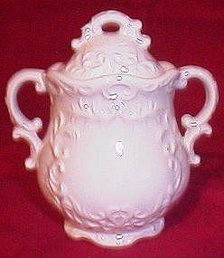 Napco White Provincial Sugar Bowl