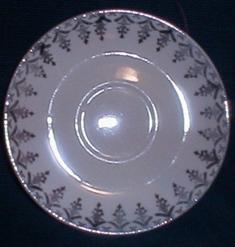 Paden City Teacup Saucers