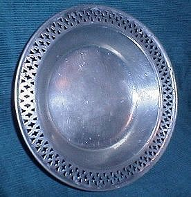 Pewter by Poole bowl