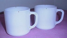 Federal Glass White Coffee Cup