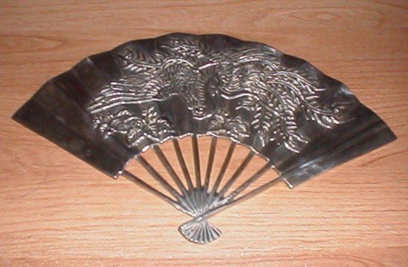 Designed Himark brass wall fan
