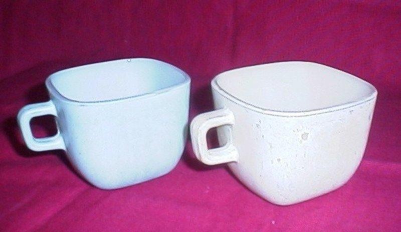 Glasbake Square Coffee Cup