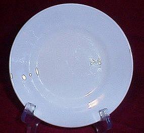 Anchor Ware Milkglass Saucer