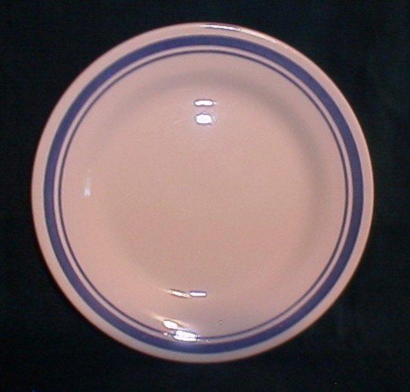 Oxford Brazil Blue Band Plate