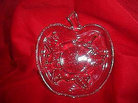 Hazel Atlas Apple Blossom Snack Plate