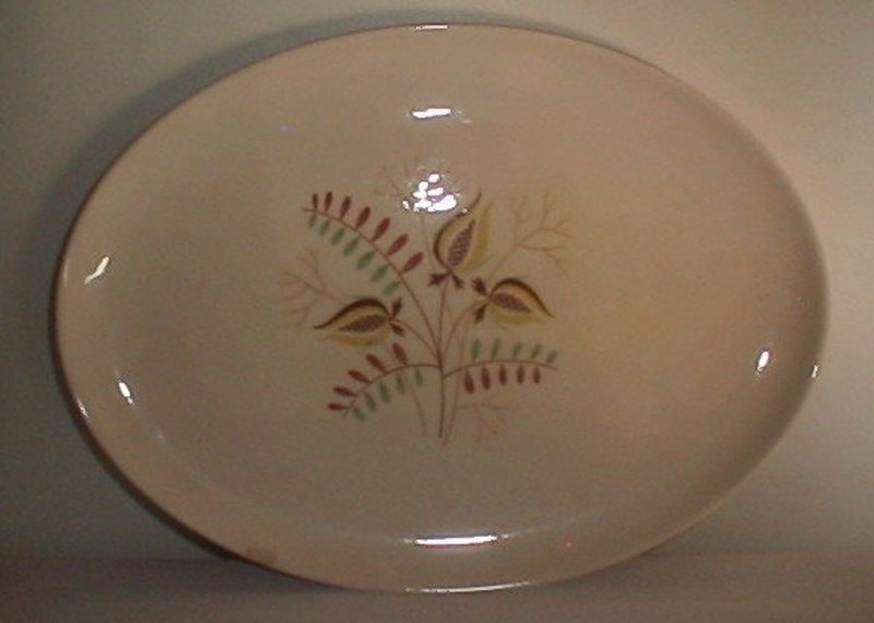 Taylor Smith & Taylor Wood Hue Oval Platter
