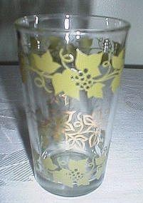Hazel Atlas/Continental Can Co Grapevine Juice Glass