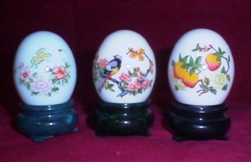 Avon Decorative Egg Decanters